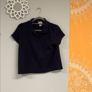 Anne Taylor short sleeve polo